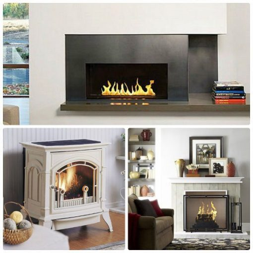 buying and using a gas fireplace