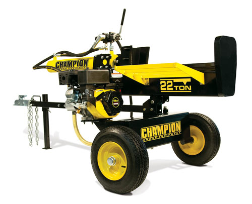 champion power gas log splitter