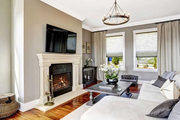 electric fireplaces are safe for home