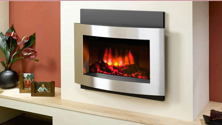 install electric fireplace