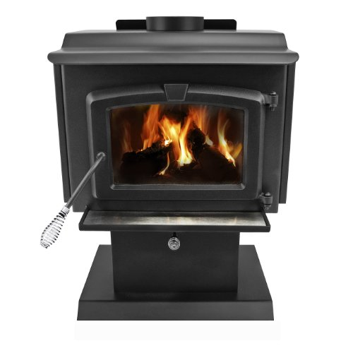 Pleasant Hearth 1,200 Square Feet Wood Burning Stove