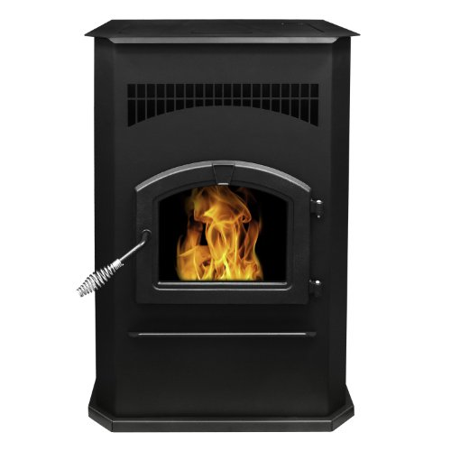 Pleasant Hearth Cabinet Style 50000 BTU's Pellet Stove with 120-Pound Hopper