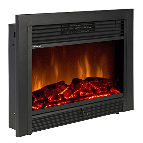 Best Choice Products SKY1826 Embedded Fireplace Electric Insert Heater