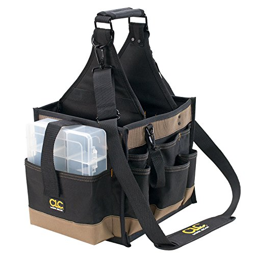 Custom Leathercraft 1528 22 Pocket Large Electrical And Maintenance Tool Carrier Review