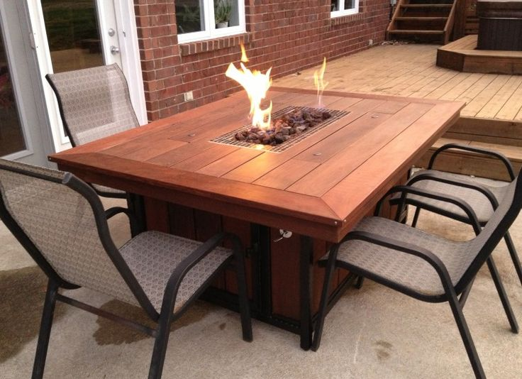 Diy Propane Fire Pit With Tables How To Build One At Home