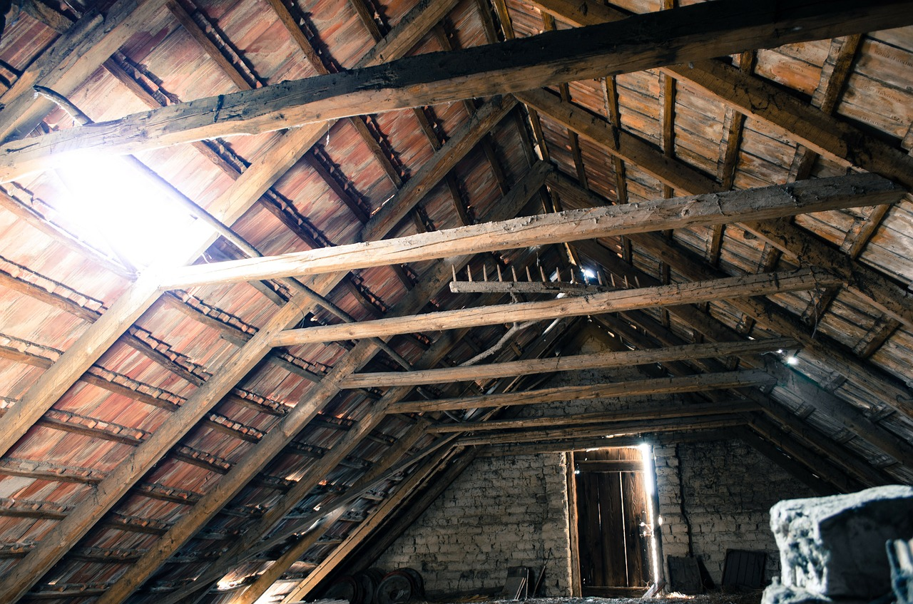 drafty old attic